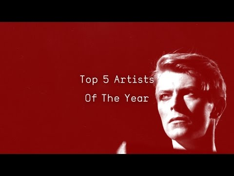 Top 5 Most Played Artists Of 2016