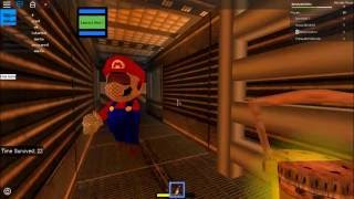 Can You Survive Mario In Area 51 Roblox With Pasta Gaming