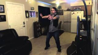dancing to Darren Hayes Darkness