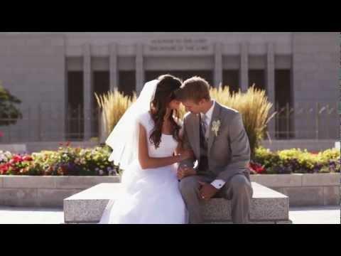 Wedding Videography Utah | Greg + Myrinda: Draper Temple