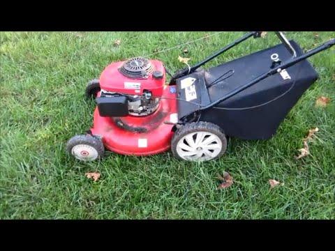 Troy Bilt Lawn Mower TB542 Honda GCV160 Engine - Craigslist Fine - Part I - Oct. 26, 2014