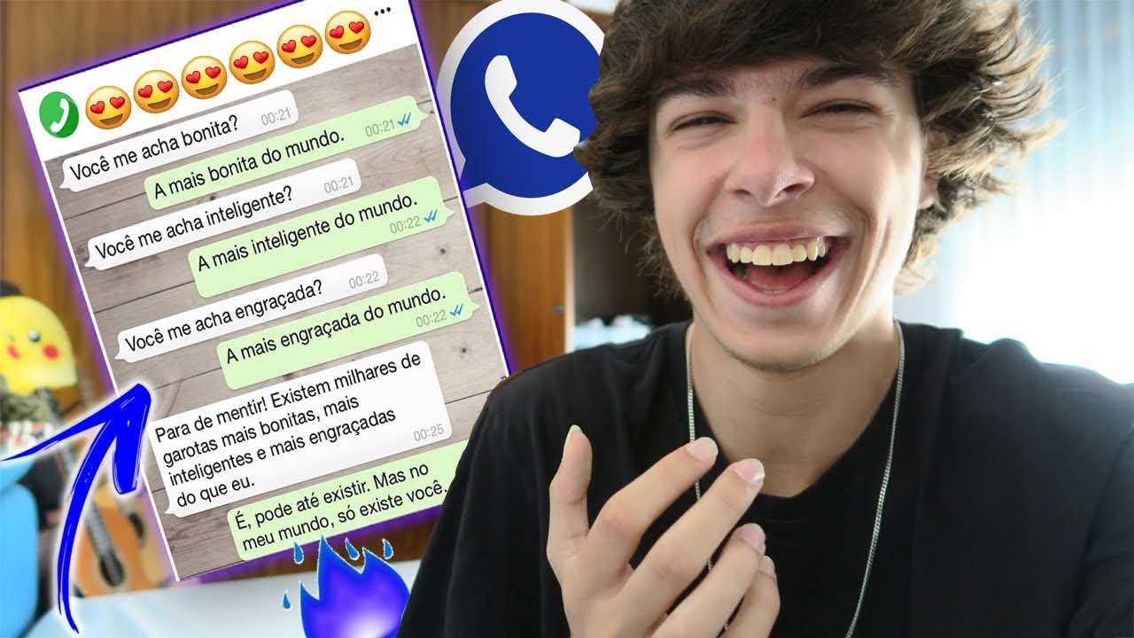 As Melhores Frases De Engate Do Whatsapp Youtube