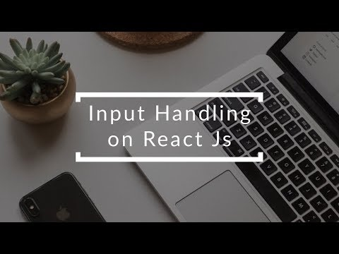 [Tutorial ReactJS]Event Handling on React JS thumbnail