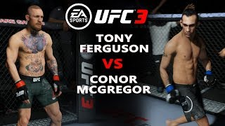 UFC 224 В UFC 3 CONOR McGREGOR vs TONY FERGUSON