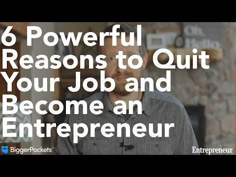 6 Powerful Reason to Quit Your Job and Become an Entrepreneur