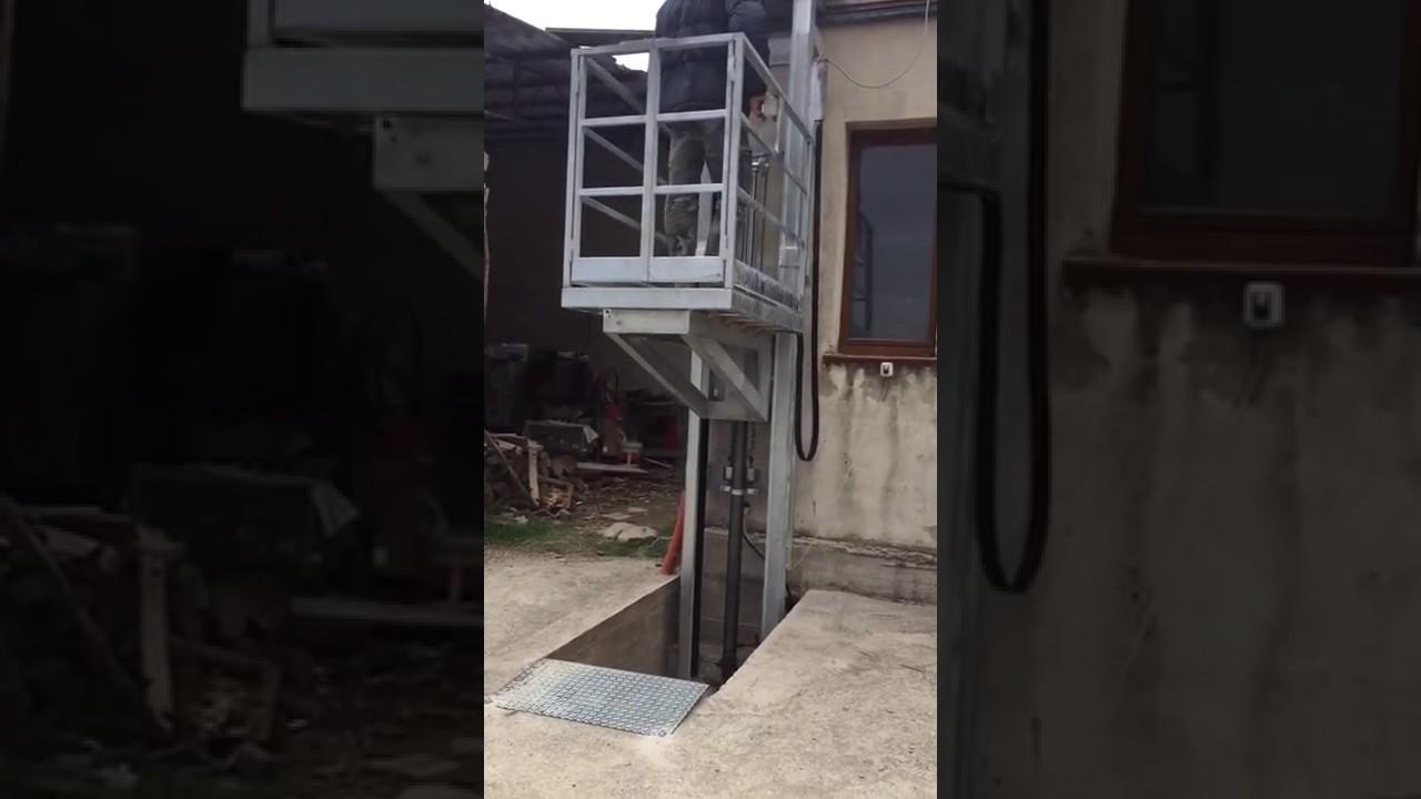Ascensore per disabili e normodotati montacarichi altezza 4 metri youtube - Montacarichi da casa ...