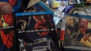 The Amazing Spider-Man Collection (Bluray,Dvd,Game)