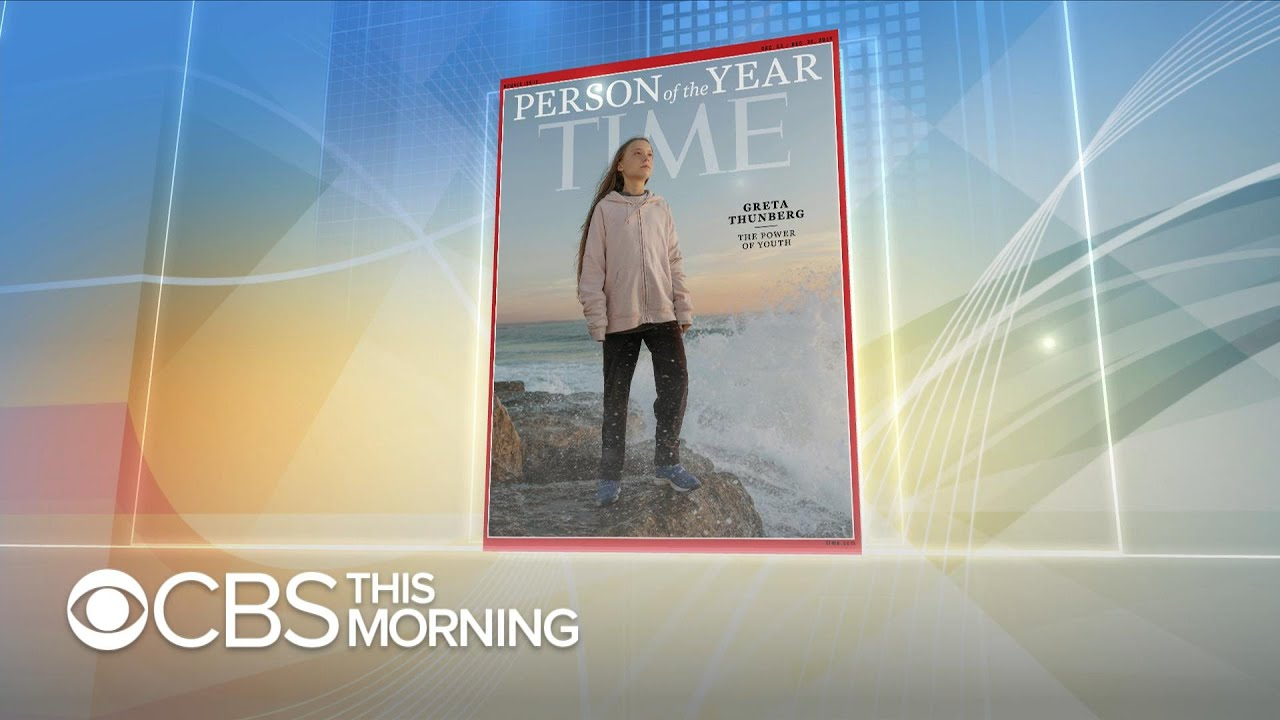 Greta Thunberg is Time's 2019 Person of the Year