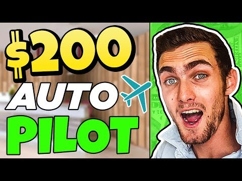 Earn $200.00 Per Day On AUTOPILOT (Make Money Online 2020)