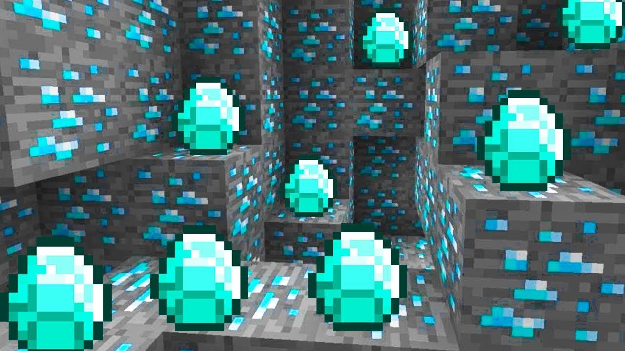CUEVA DE DIAMANTES!😁💎😱   Plech Minecraft Noob #13