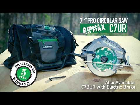 Metabo HPT Circular Saw (RipMax)