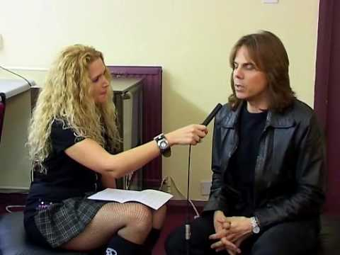 Joey Tempest - Interview (backstage)