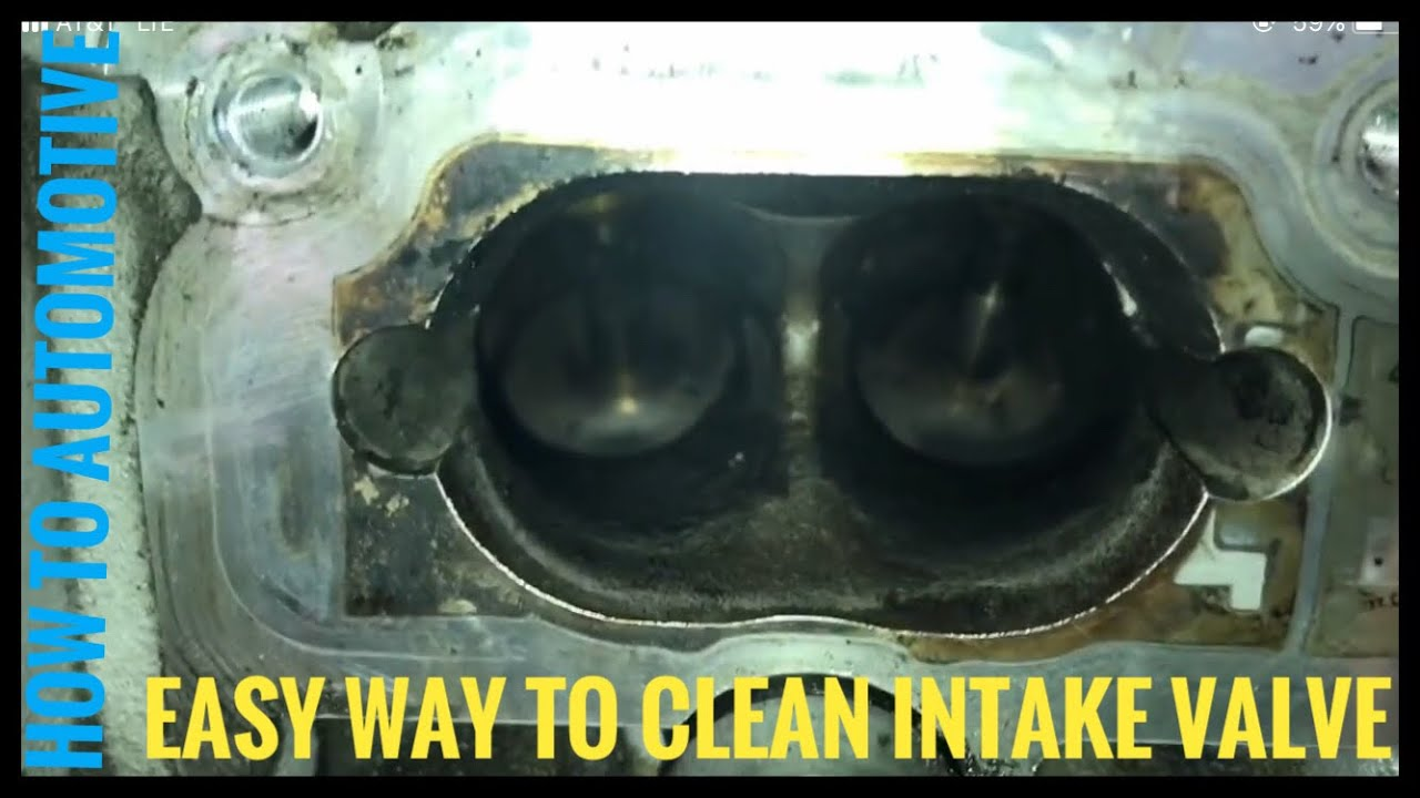 Intake valve cleaning from carbon build up | Genesis Forums