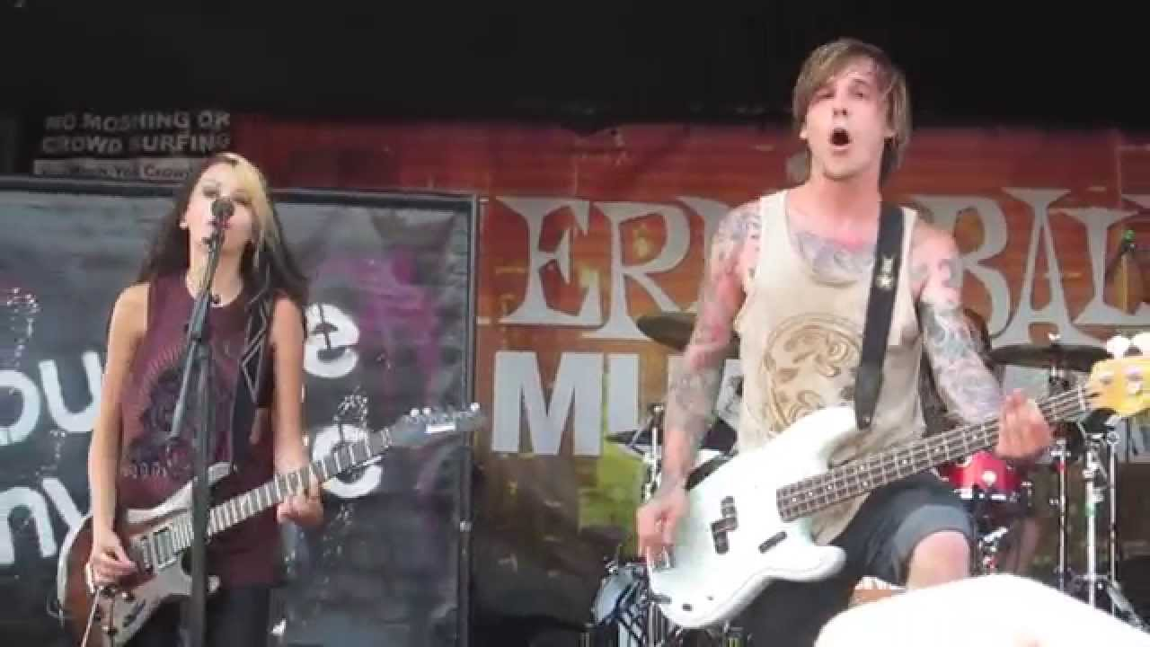 ac8651ac55 Courage My Love - Skin And Bone Live at Vans Warped Tour 2014 - YouTube