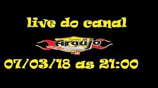 Chamada para live dia 07/03/18