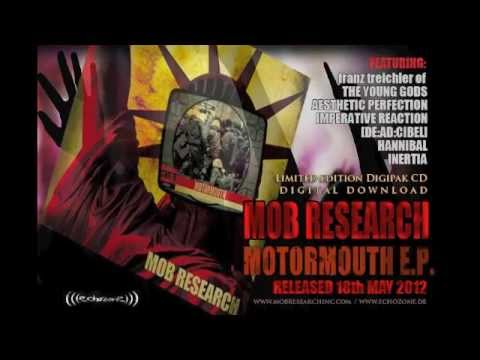 Mob Research Motormouth EP sampler 2012