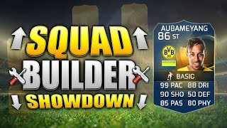 FIFA 15 SQUAD BUILDER SHOWDOWN!!! TOTS AUBAMEYANG!!! The Fastest Player In Fifa Squad Builder Duel
