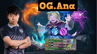 OG.Ana Invoker God with Topson and Gabbi Player Perspective | Absolute Domination | DOTA 2