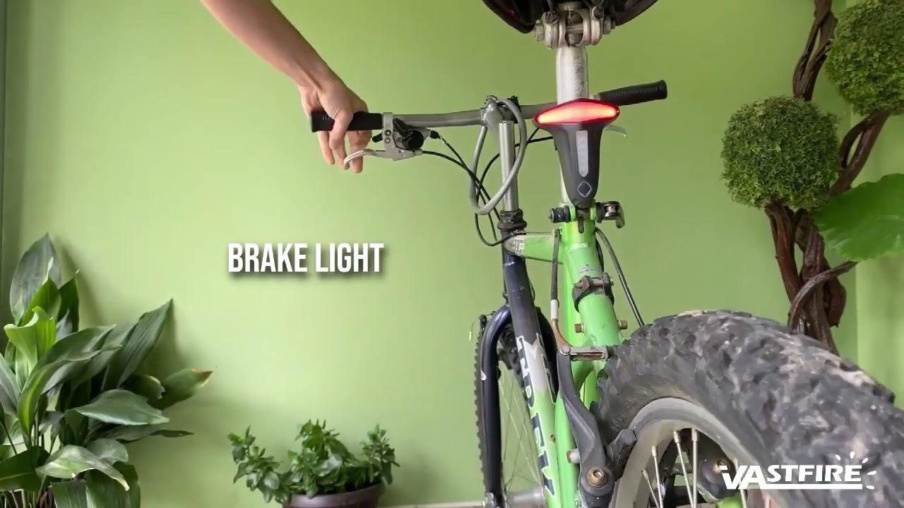 VASTFIRE Bicycle Brake Light 200 LM Seen Daylight Light