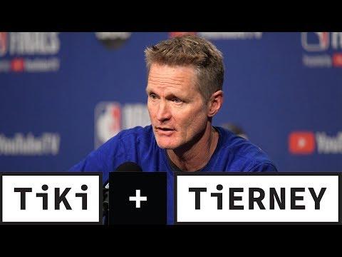 Steve Kerr BLASTS Anthony Davis' Trade Demand   Tiki + Tierney
