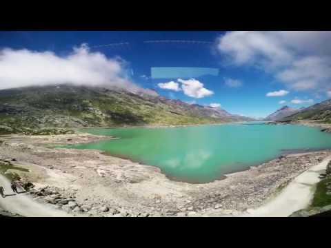 Journey through the Swiss Alps to Mt.Diavolezza
