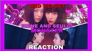 Red Velvet - IRENE \u0026 SEULGI 'Monster' MV - REACTION