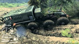 Spintires - Officer Speirs - So Much Mud