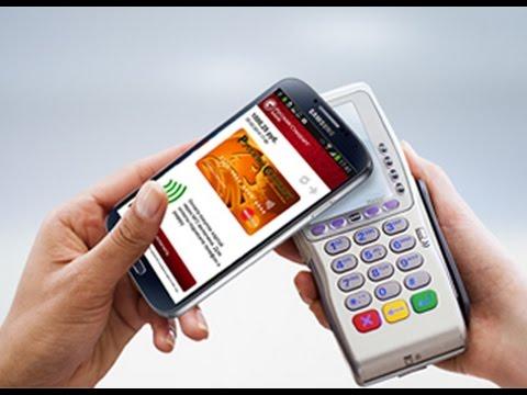Как платить смартфоном вместо карты   Samsung GALAXY S4