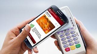 Как платить смартфоном вместо карты   Samsung GALAXY S4(Хотите превратить ваш смартфон Samsung Galaxy S4 в банковскую карту? Смотрите в видеоинструкции, как просто это..., 2014-10-27T14:54:35.000Z)