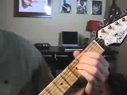 Lesson 108 BAR CHORD change exercise TECHNIQUE TIPS make open to ...
