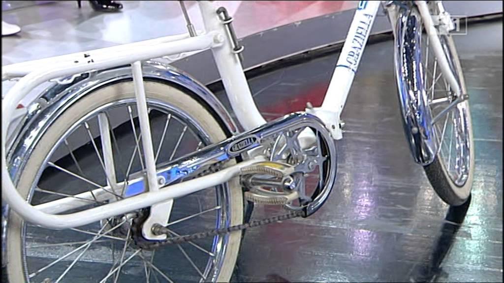Graziella guidata da carlo conti bicicletta nata nel for Graziella sport