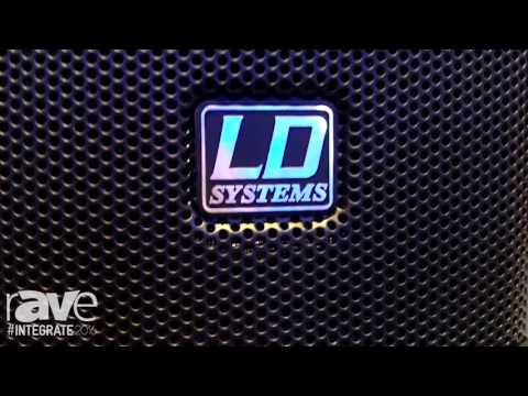 Integrate 2016: LD Systems Intros 442 Series and 42 Series SAT Installation Speakers
