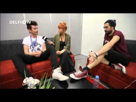 Bastille - Interview @DelfiTV