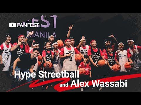 Hype Streetball And Alex Wassabi @ YouTube FanFest Manila 2019