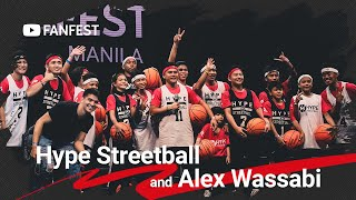 Hype Streetball and Alex Wassabi @ YouTube FanFest Manila 2019