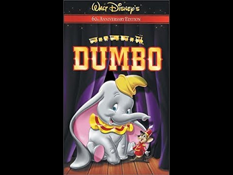 Opening And Closing To Dumbo:60th Anniversary Edition 2001 VHS