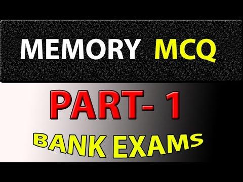 Computer Awareness Memory MCQ part - 1