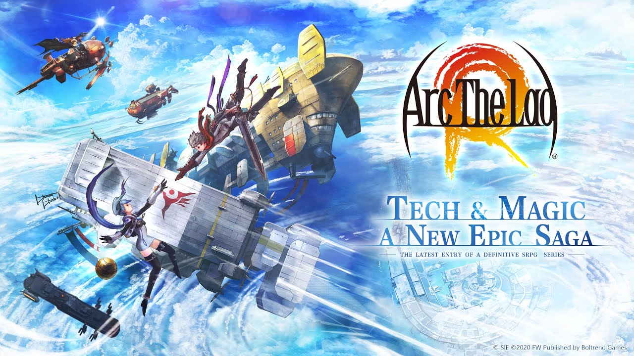 Arc the Lad R Gameplay Display