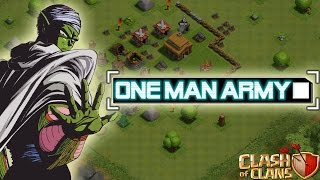 ONE MAN ARMY!    CLASH OF CLANS    Let's Play CoC [Deutsch/German HD]