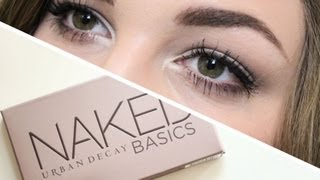 One of I Covet Thee's most viewed videos: Urban Decay Naked Basics Tutorial | I Covet Thee