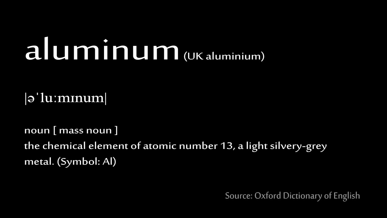 13 Aluminum How To Pronounce Chemical Elements Periodic Table