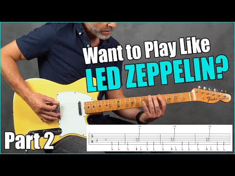 Top 10 Led Zeppelin Riffs You Can Play TODAY (Part 2)
