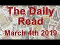 The Daily Read - Mar 4th 2019 - You're being guided to new, abundant horizons - Tarot Reading