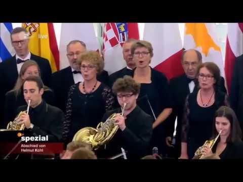 Helmut Kohl - Alle Menschen werden Brüder - Europahymne