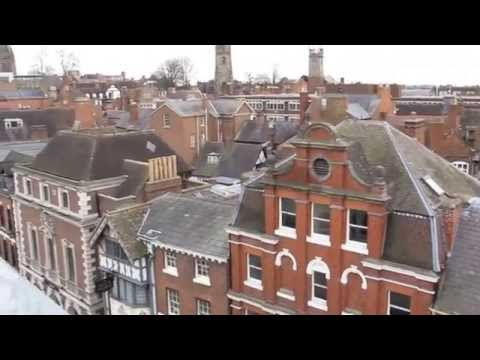 Shrewsbury from above (ish)