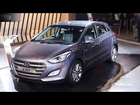 Hyundai i30 Showcased At Auto Expo 2016