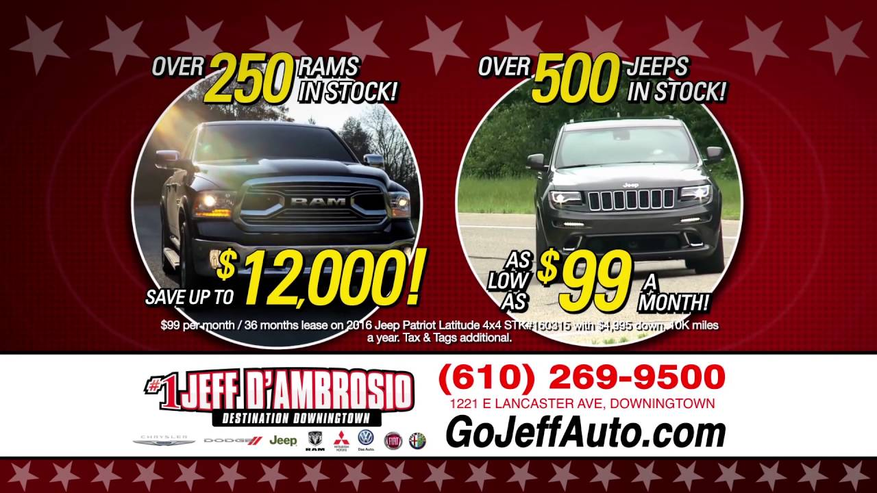 Labor Day Sales Event Jeff D Ambrosio Auto Group New Used Car