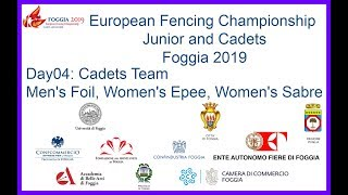 European Cadet and Junior Championships Foggia Day04 - 2nd Color Zone