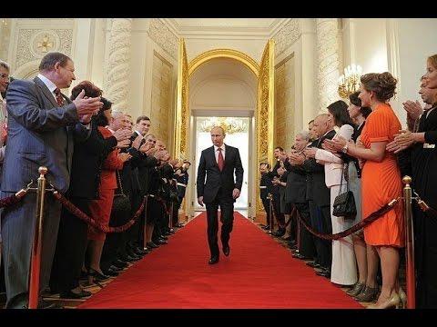 Entrada de Vladimir Putin no Kremlin
