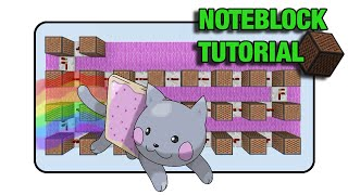 "Nyan Cat Doorbell - Note Block ""Tutorial"" (Minecraft Xbox 360/One/Ps3/Ps4)"